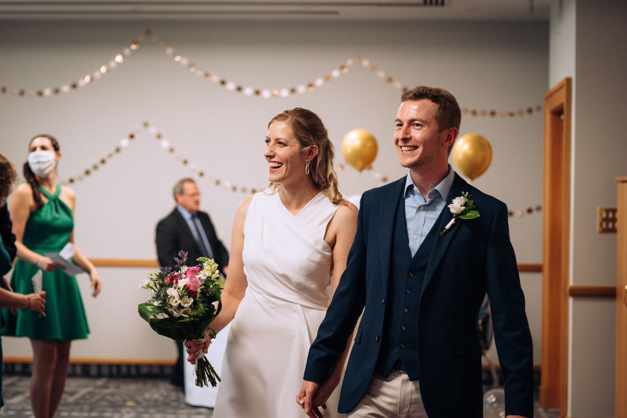 Zara Davis Wedding Photography Pukrup Hall Tewkesbury Gloucestershire Cotswolds Just married