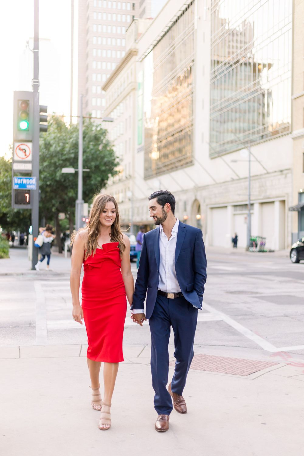 Engagement Session in Downtown Dallas