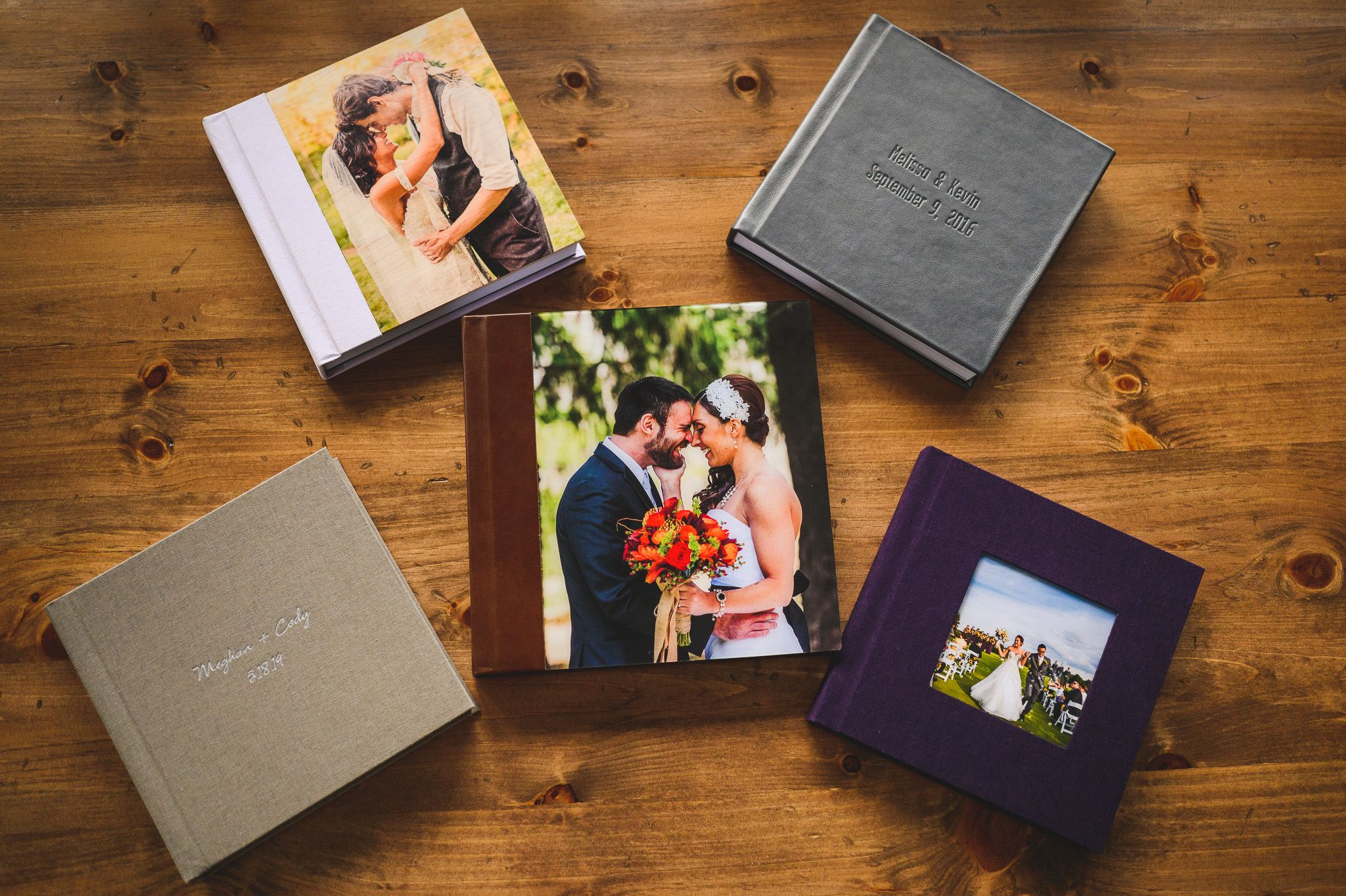Wedding Album Design Nikki & Chip Photography