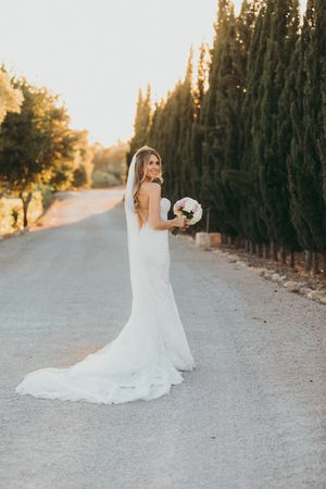 Gorgeous Bride Mallorca, Hot White Wedding Mallorca, gorgeous bride, wedding dress