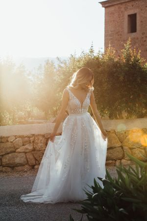 Wedding dress Mallorca, Ana Adriana Wedding Photographer Mallorca