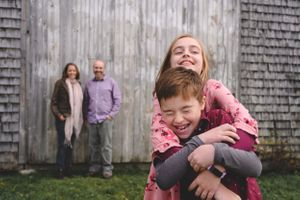 Authentic Maine Family Sessions