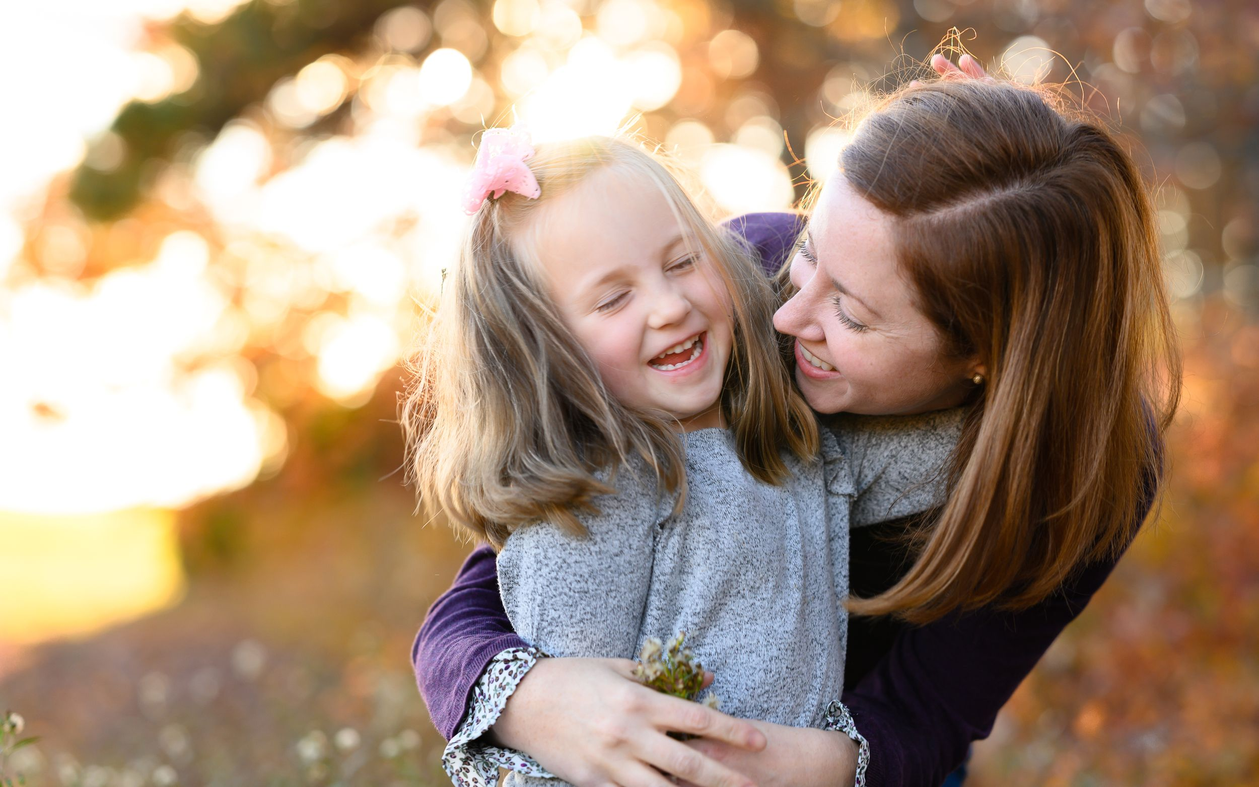 Mother and daughter family photography