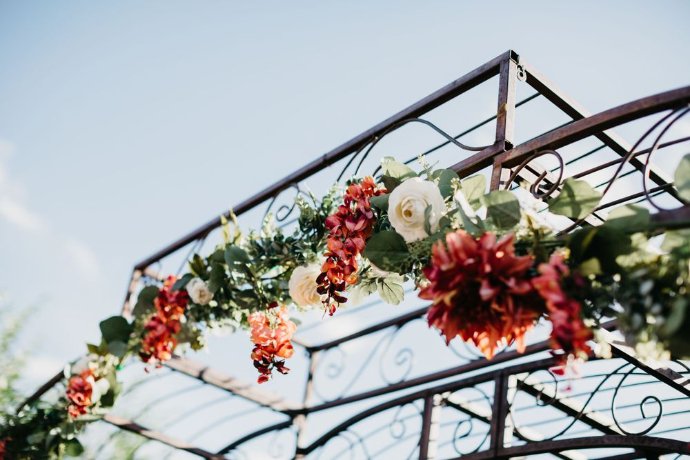 Floral Wedding Ideas, Wedding Archway, Colorado Wedding Ideas, Hillside Gardens,  Colorado Springs Summer Wedding
