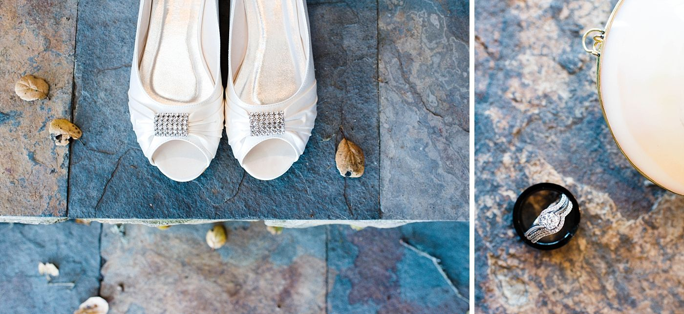 monterey beach house California destination wedding rings shoes