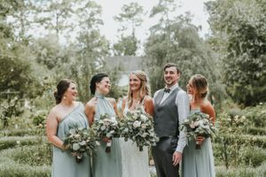 Savannah Botanical Gardens Wedding