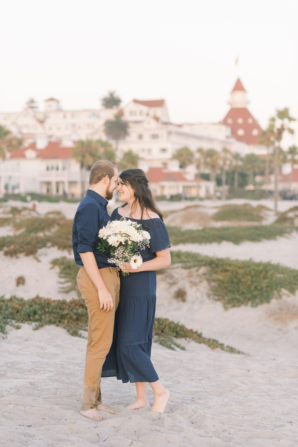 Engagement at Hotel del Coronado, San Diego