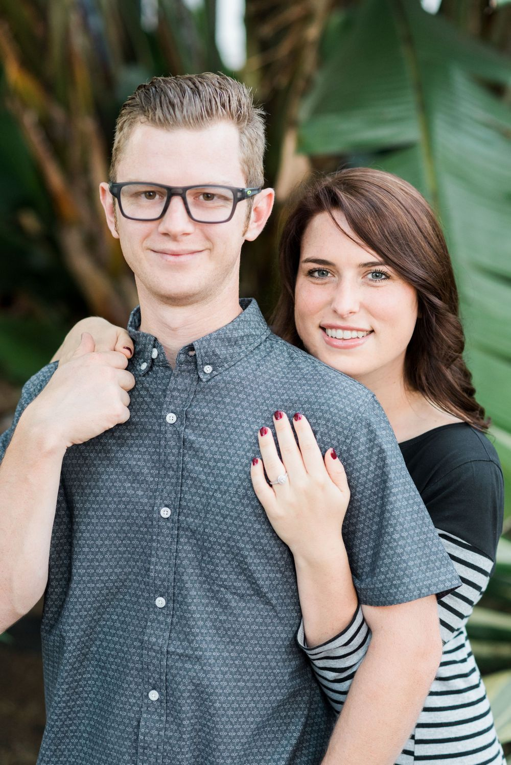 Engagement session in San Clemente, California