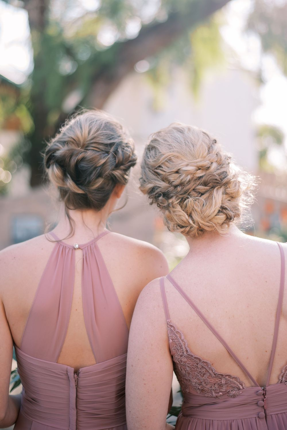 Bridesmaid braid hairstyle
