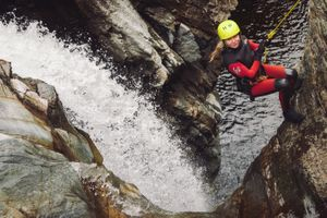 The Adventure Photographers Canyoning Bruar Nae Limits Adventure Photography