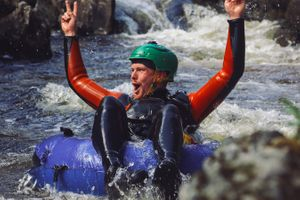 The Adventure Photographers Tubing Tummel Nae Limits