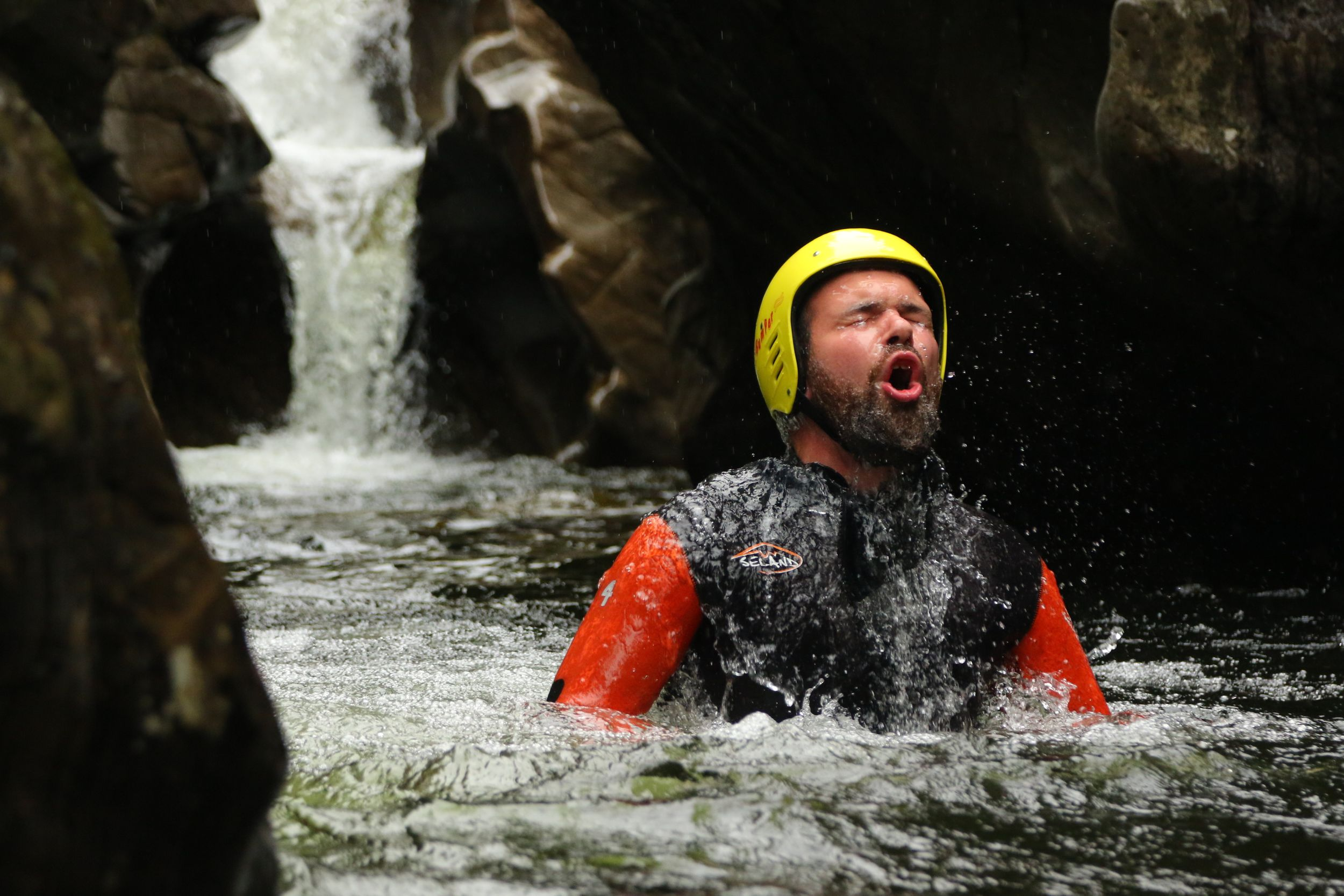 The Adventure Photographers Canyoning Bruar Nae Limits Photography