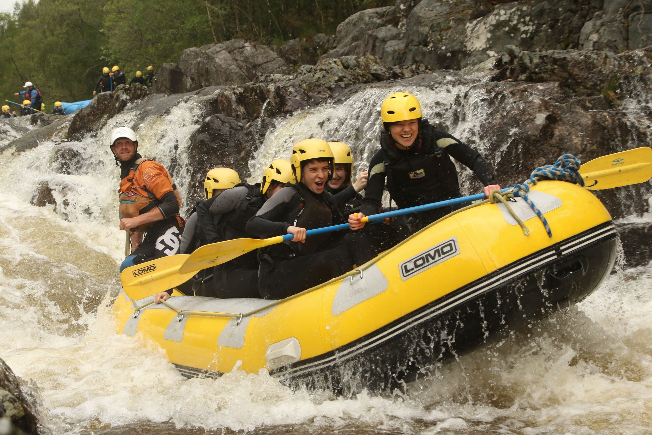 The Adventure Photographers Rafting Tummel white water Photography