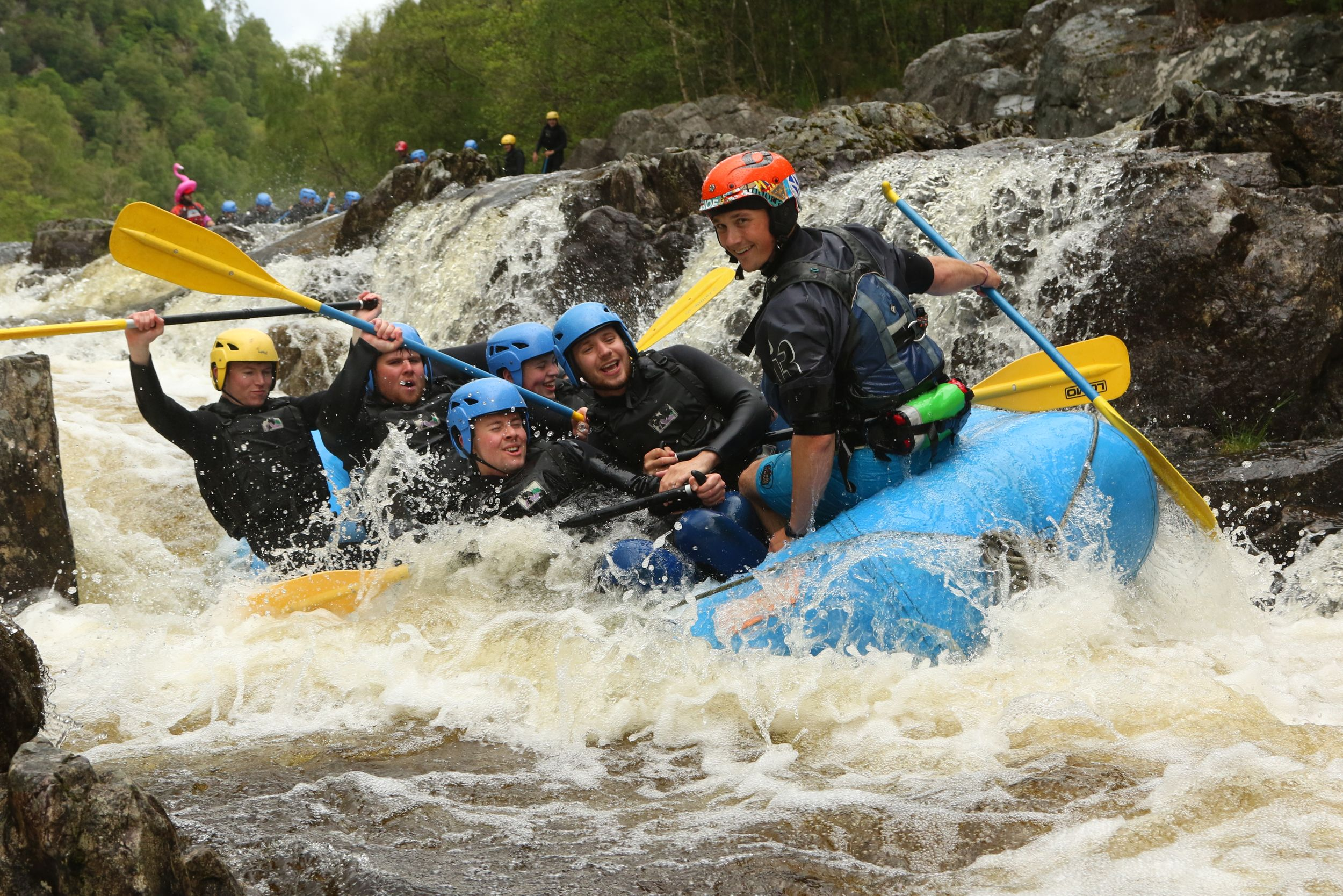 The Adventure Photographers Rafting Tummel Photography white water