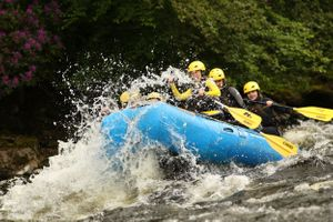 The Adventure Photographers Rafting Tay white water