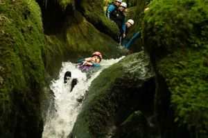 The Adventure Photographers Canyoning Dollar The Canyoning Company