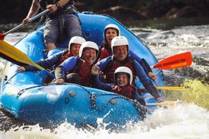 The Adventure Photographers Rafting Tay Nae Limits