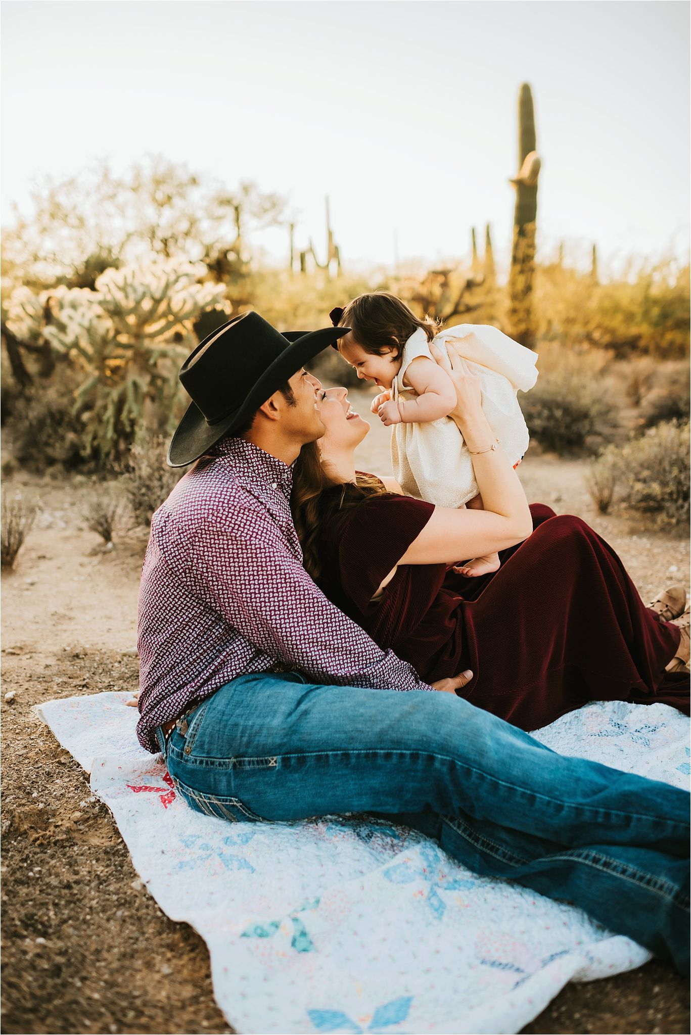 Family session in Sabino Canyon AZ-Tucson Family Photographer-04