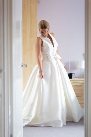 classic wedding dress at Park House Wedding