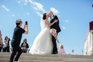 St Marks Square Venice wedding photography
