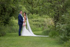Scott Williams and his beautiful wife Tanya at Sylen Lakes wedding