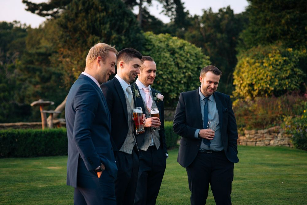 Zara Davis Wedding Photography Near Stroud, Gloucestershire, Cotswolds Glenfall House guests playing games