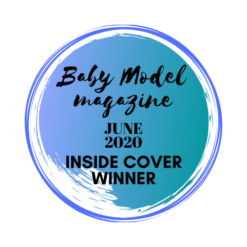 Baby Model Magazine Inside Cover Winner 2020