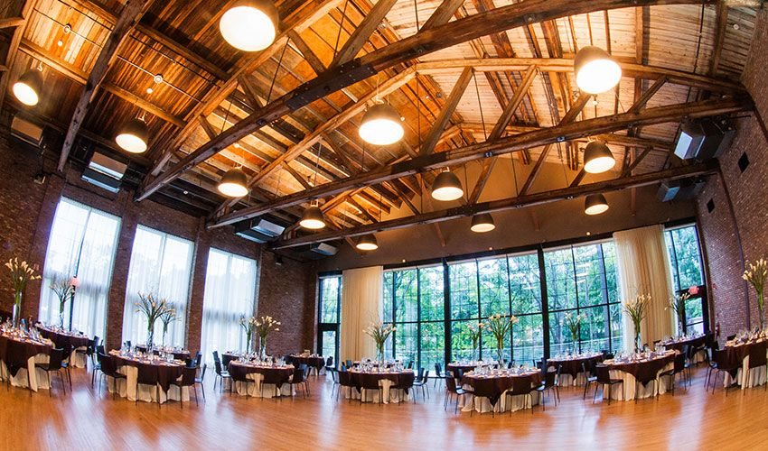 Roundhouse Beacon Hudson Valley industrial wedding venue