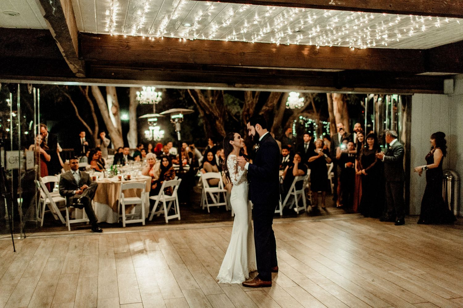 first dance at calamigos ranch birchwood room