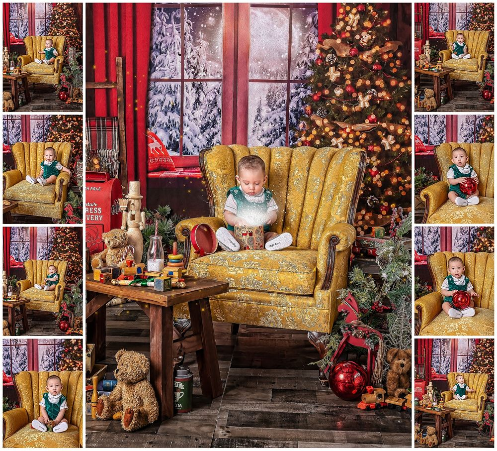 2019 Magc of the Holidays Austin Baby Photographer