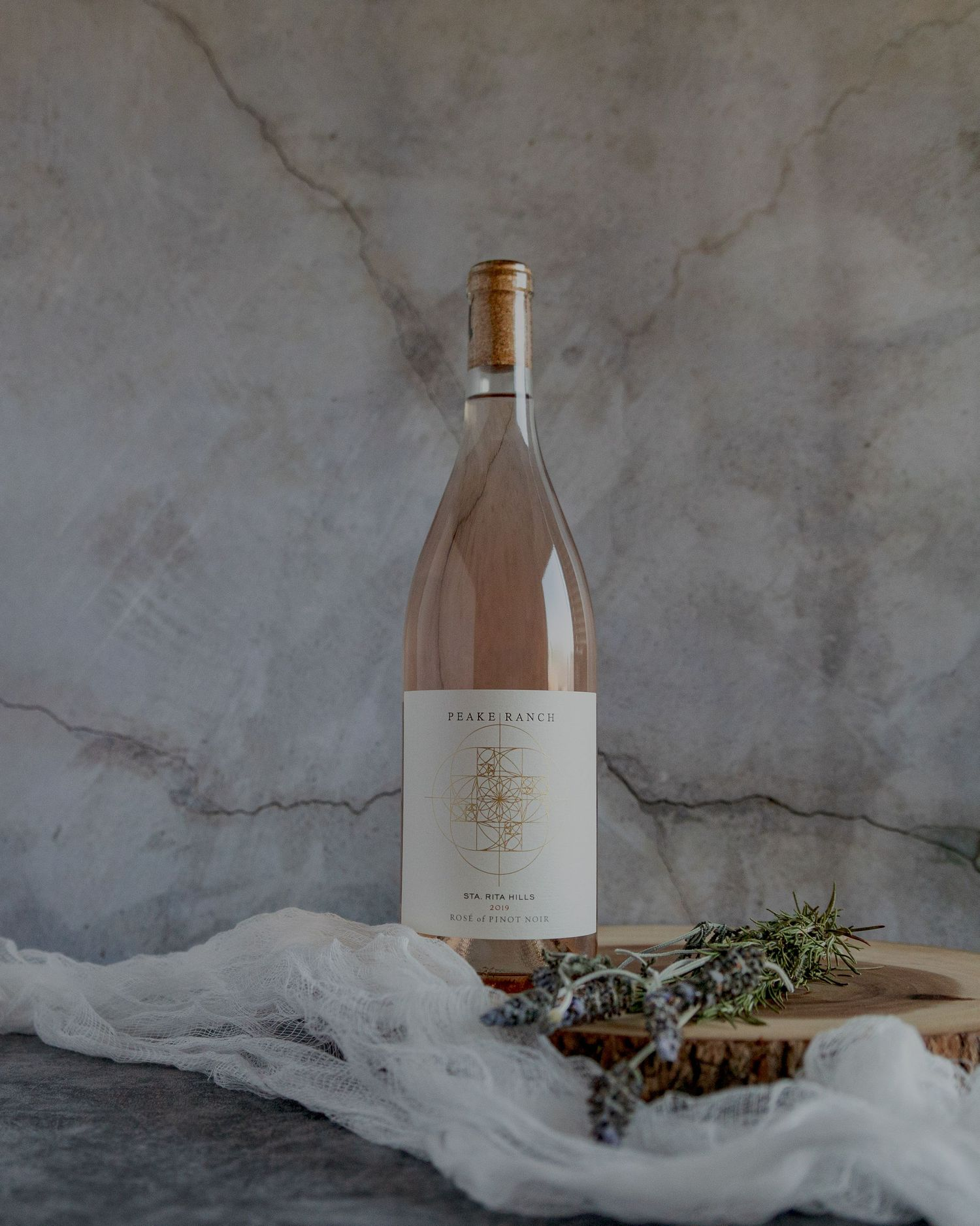 bottle photo of Peake Ranch pinot noir rosé
