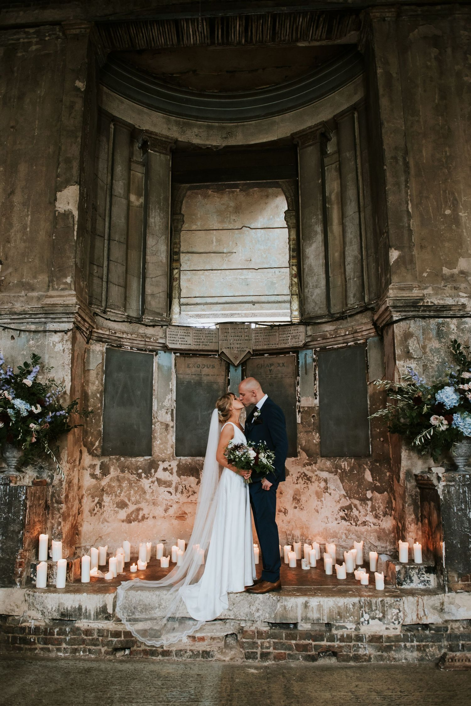 The Asylum Wedding London - Rosie Kelly Photography