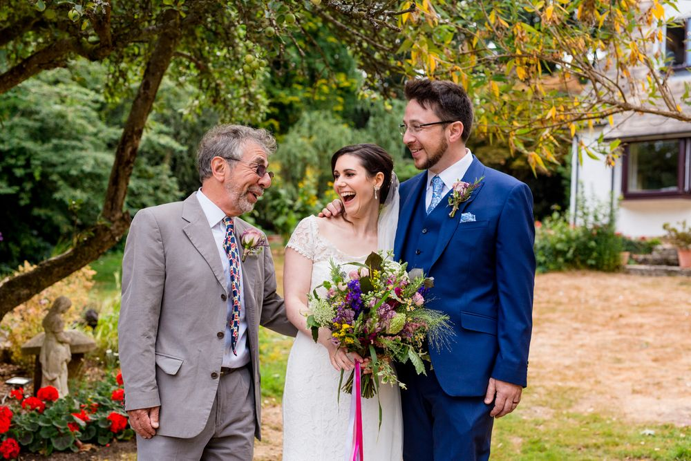 garden summer wedding photographer