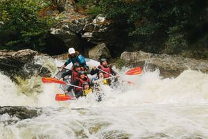 The Adventure Photographers FreeSpirits Rafting Tummel