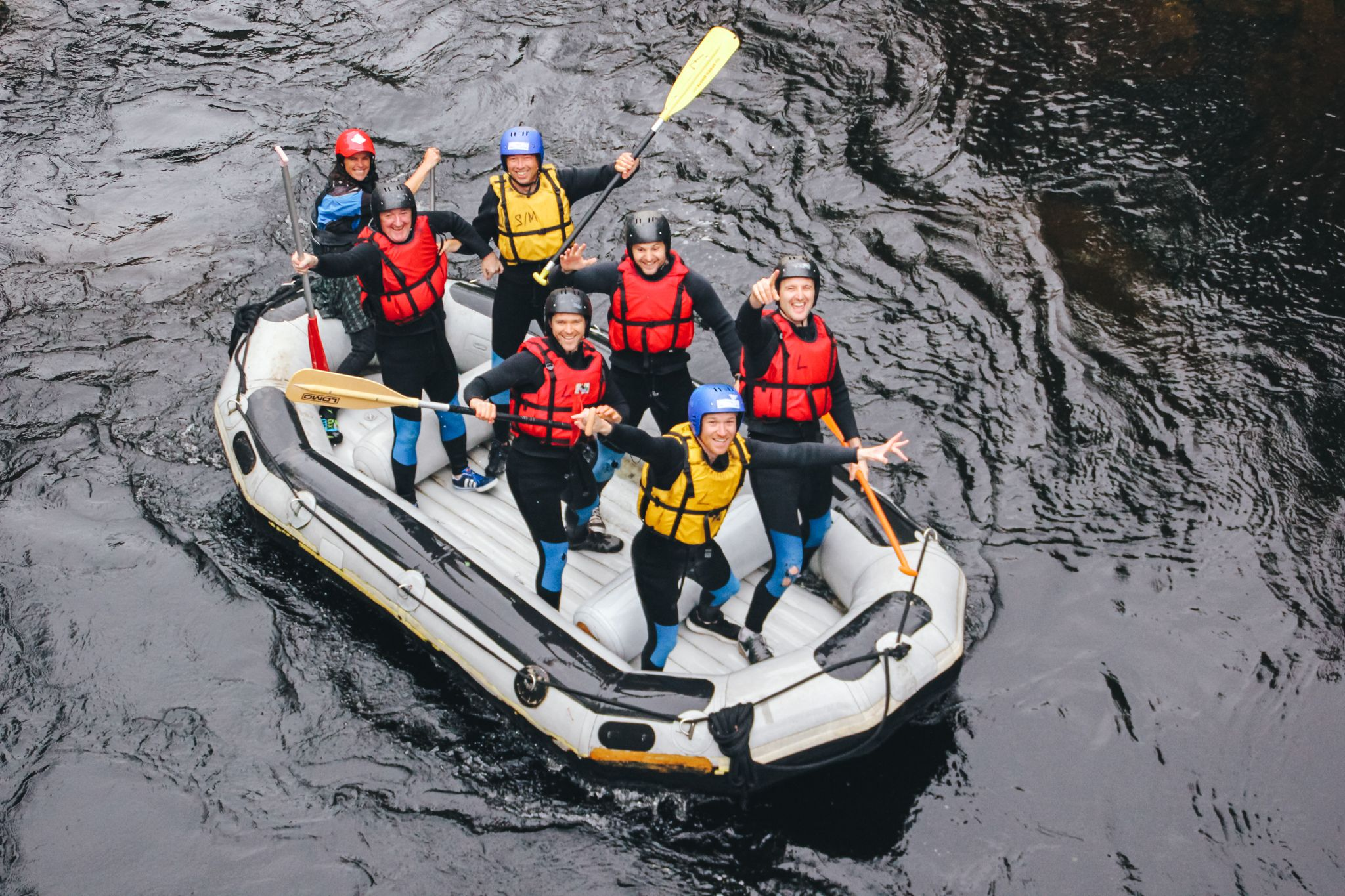 adventure photography rafting white water freespirits