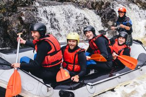 white water rafting tummel freespirits photographer