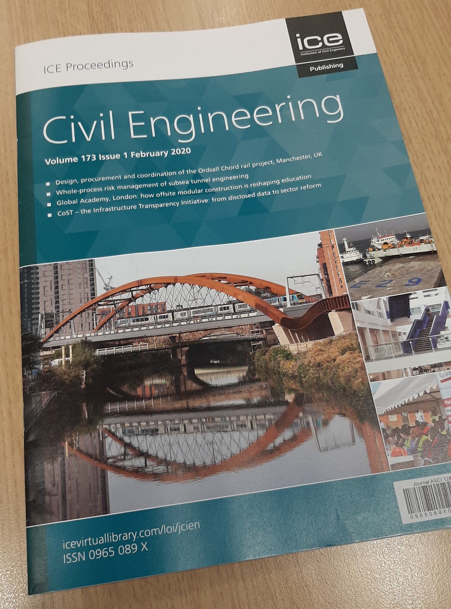 Institute of Civil Engineers Ordsall Chord