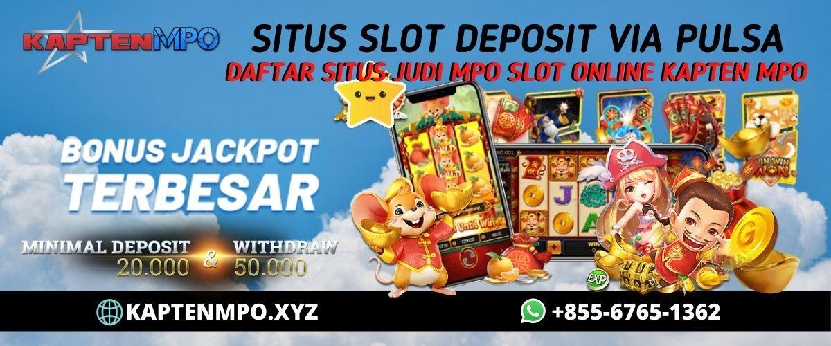 Kapten Mpo Situs Judi Mpo Slot Online Deposit Pulsa 10 Ribu
