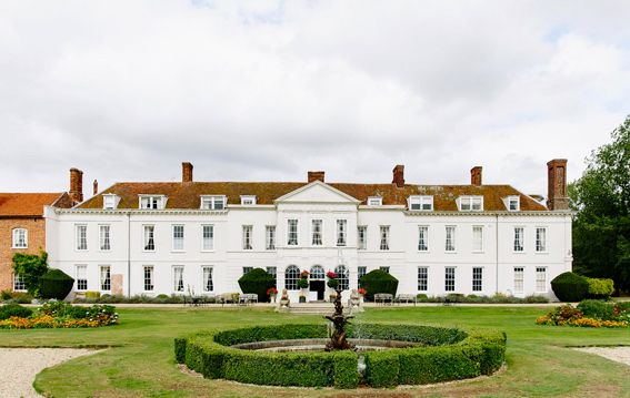 Gosfield Hall, Essex is on Faye Amare's wedding venue bucket list