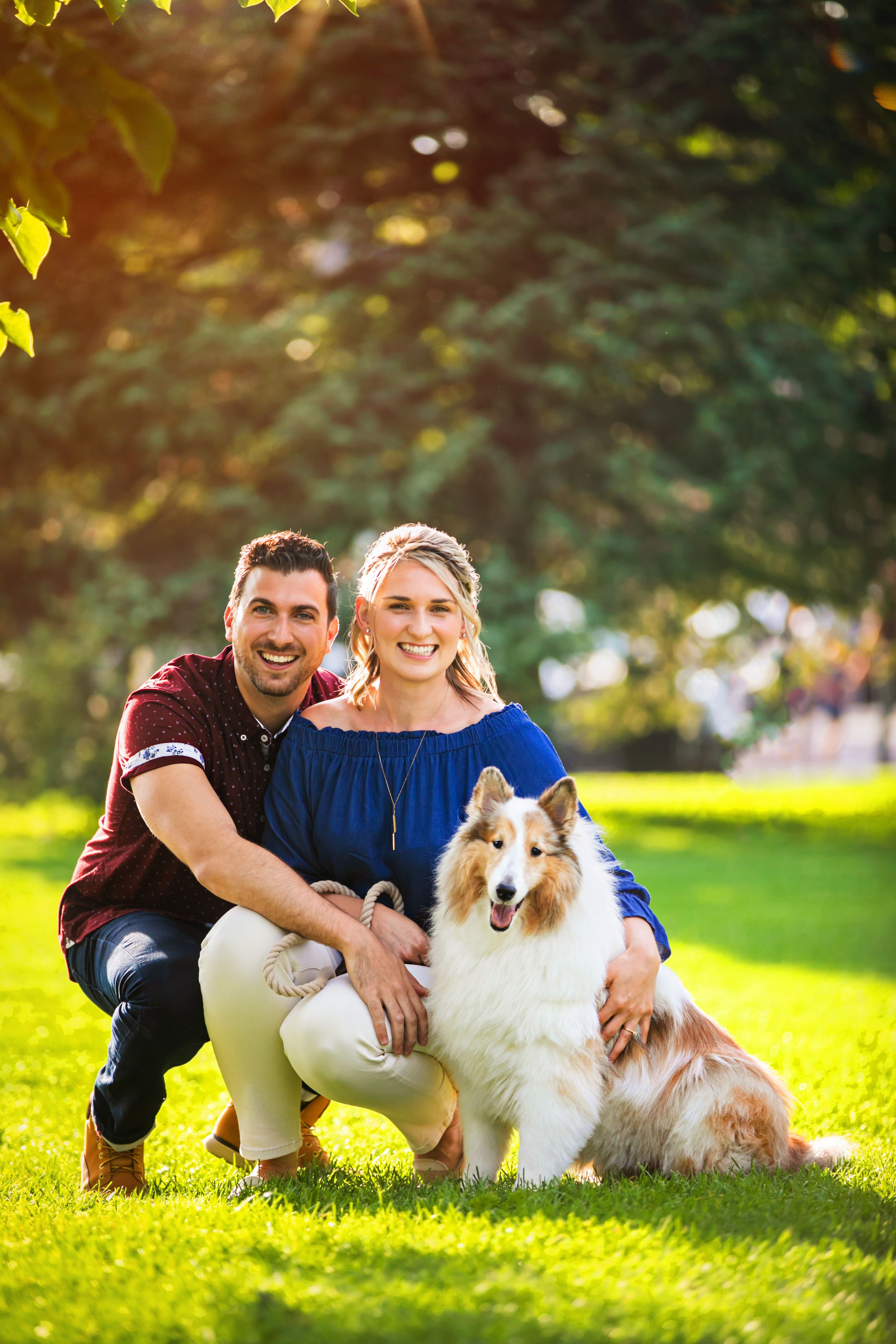 Downtown London Ontario Victoria Park Engagement Photography by Shawn Van Daele