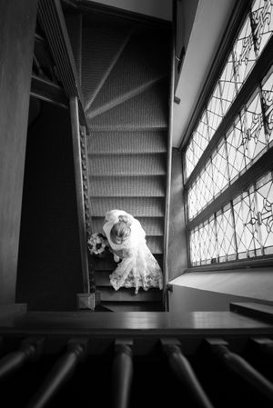 Wedding day photography at michigan chapel by top Detroit photographer / Westin Book Cadillac / Detroit Athletic Club