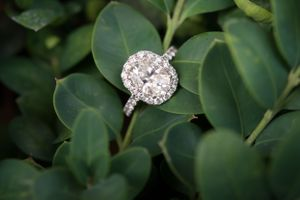 Engagement Ring Photography by luxury detroit wedding photographer / west bloomfield hills / rochester hills / royal oak