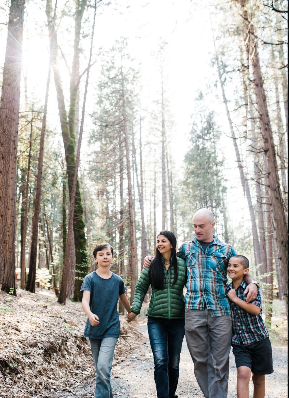 Family Portraits with Lenkaland Photography in Nevada County, California