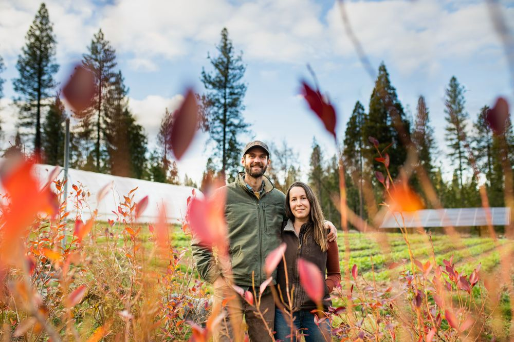 Fall Portraits with Lenkaland Photography in Nevada City, California