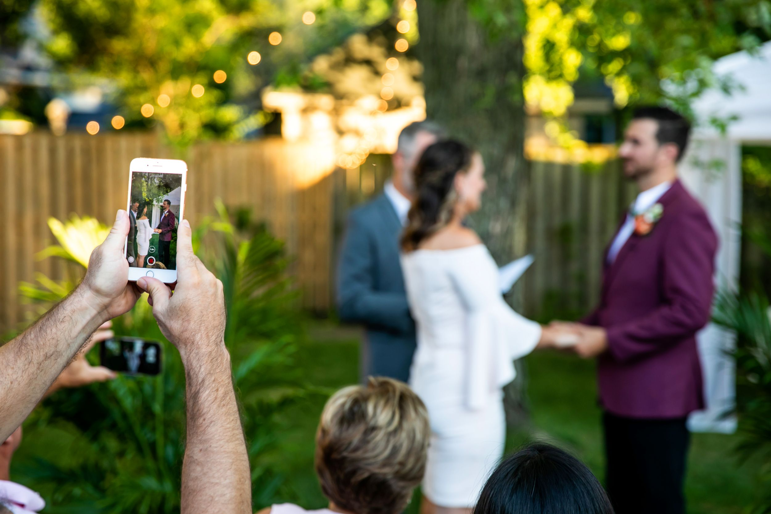 London Ontario Surprise Backyard Pop Wedding Photography by Shawn Van Daele