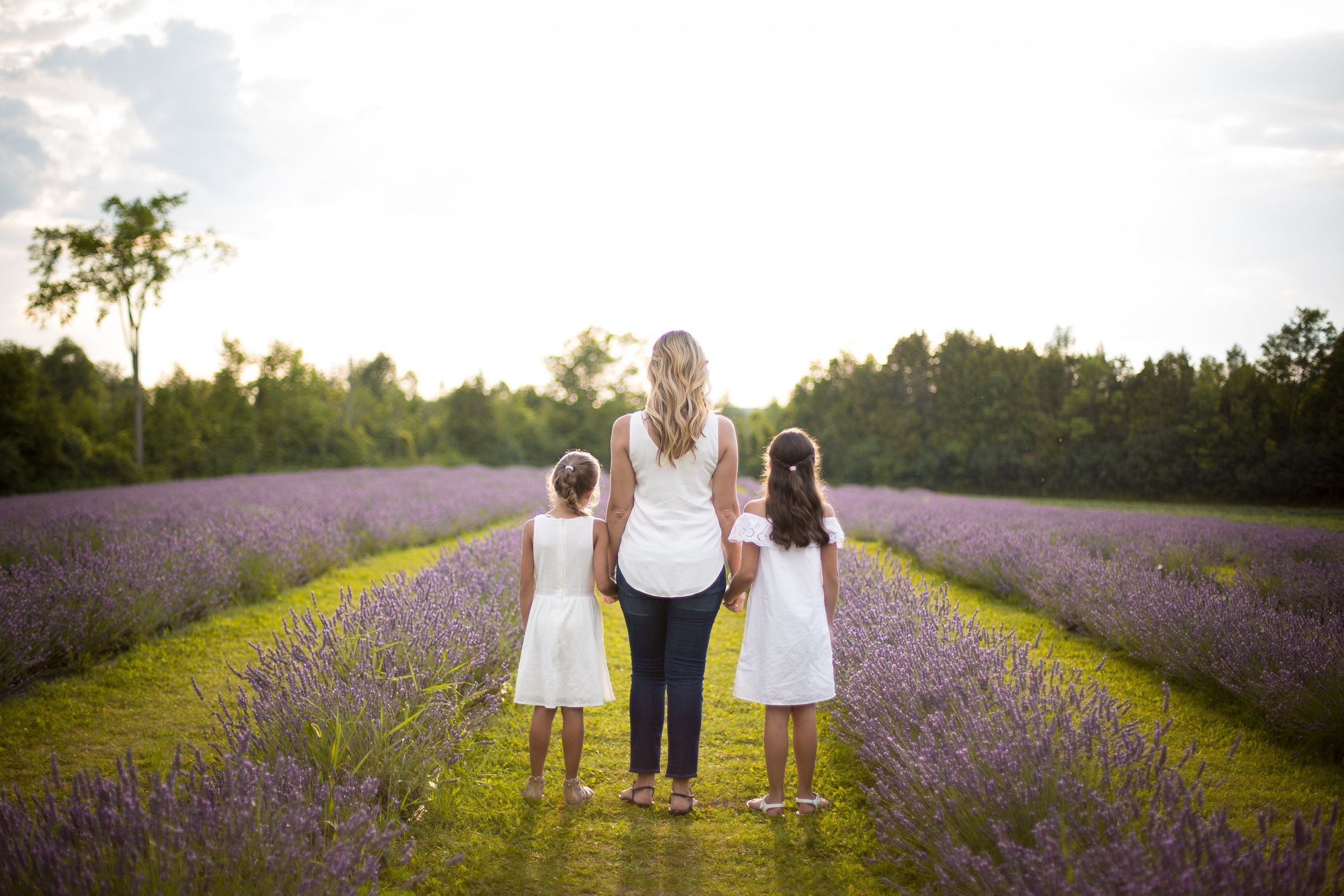 Terre Bleu Lavendar Farm Mother & Daughters