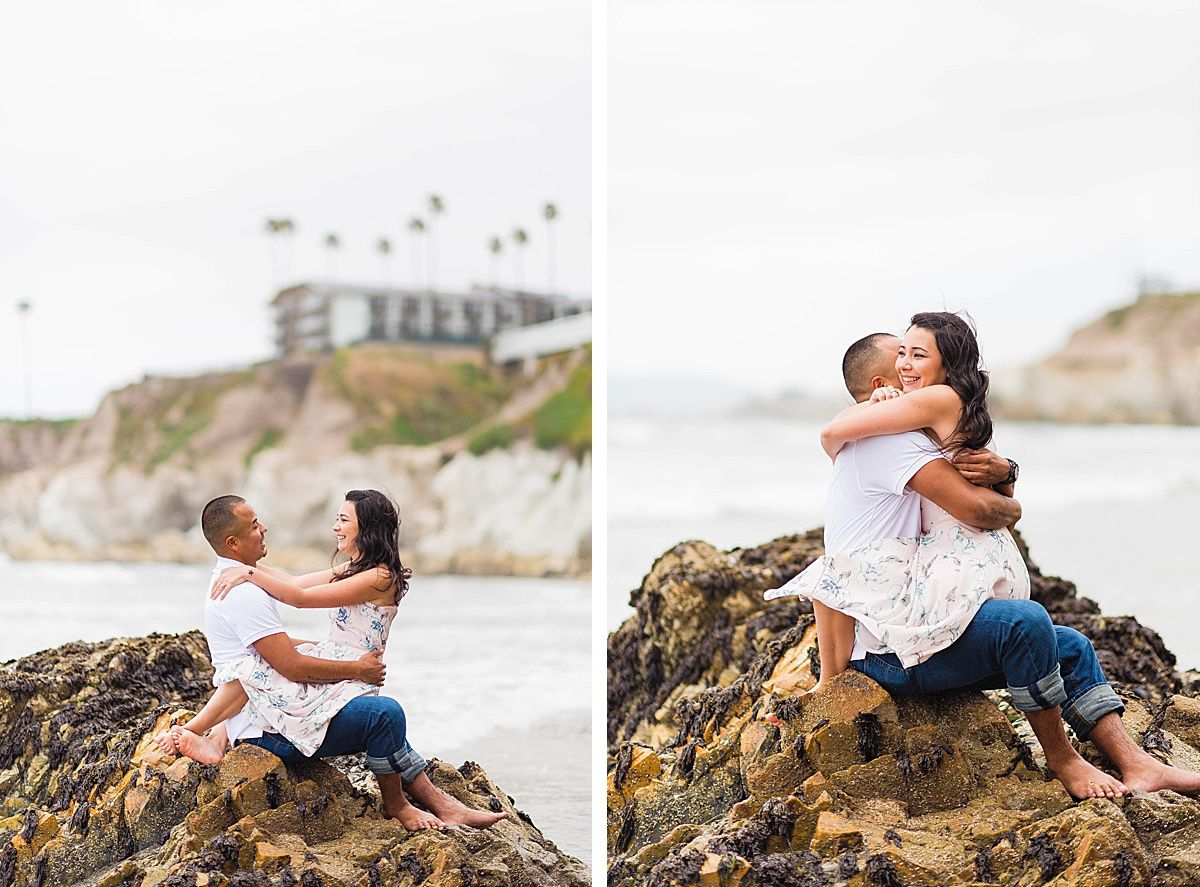 Pismo beach california adventure engagement
