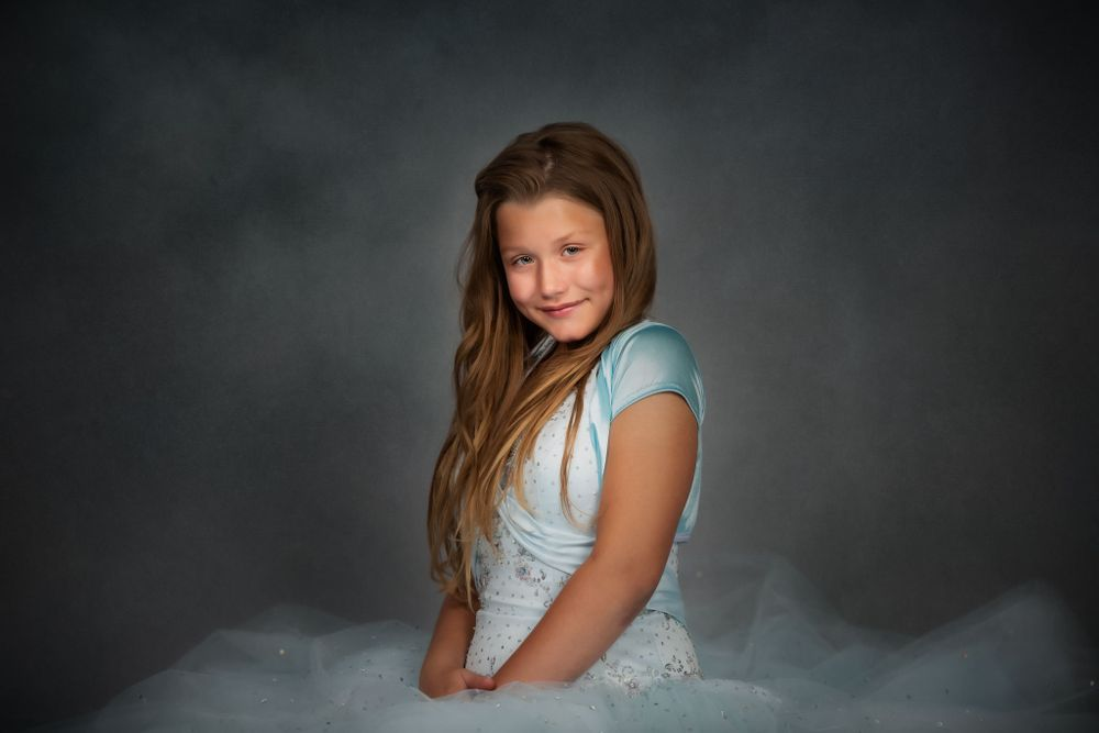 Fine Art Child Portrait taken at Studio 108 by Nicci Smith Photography