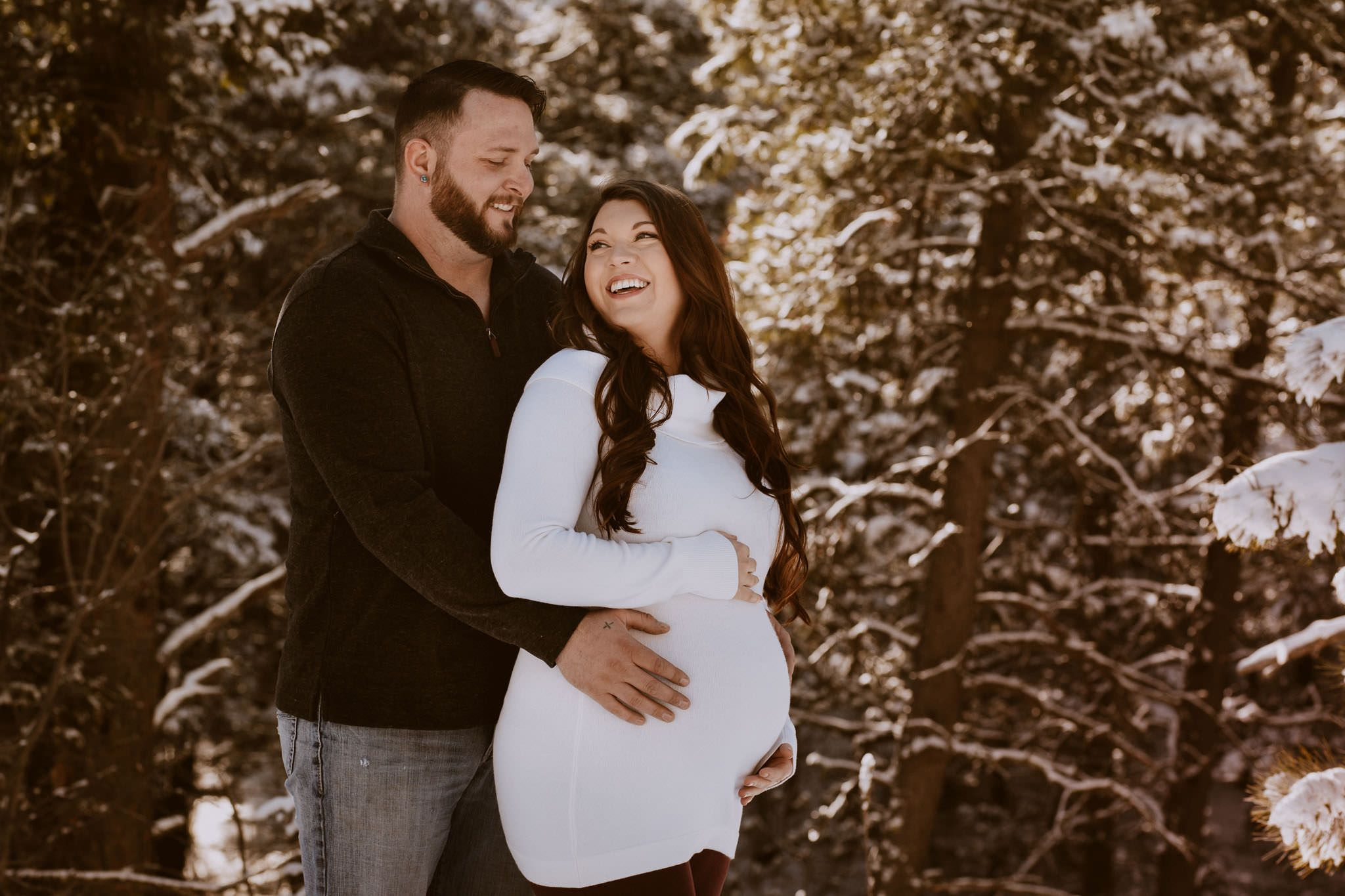 couples maternity photographer