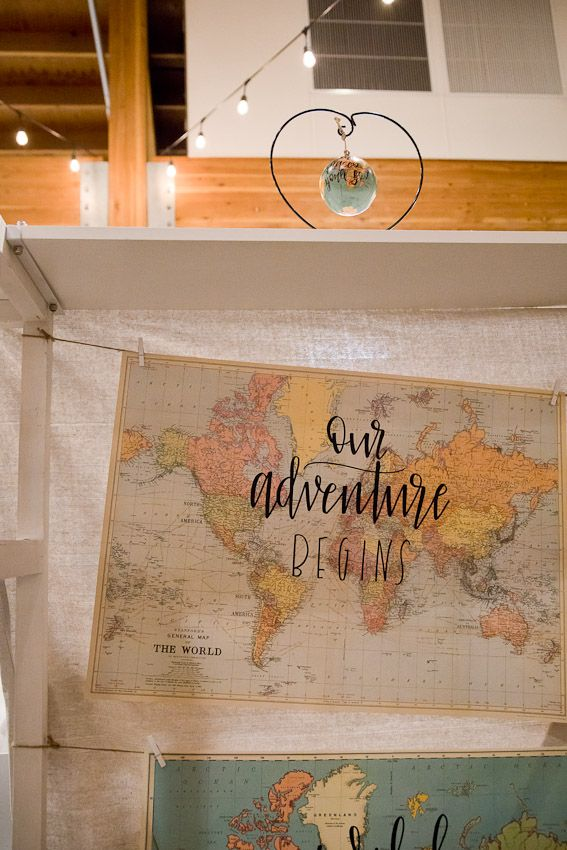 Pinology Puyallup Mia Nicole Booth Handmade calligraphy on globes and maps photo of map display and globe